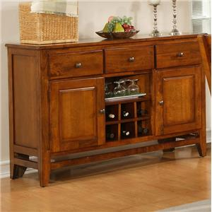 Light Oak Dining Room Server