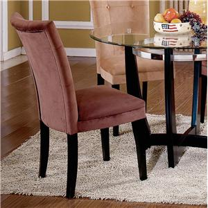 Exposed Wood Parson Dining Chair