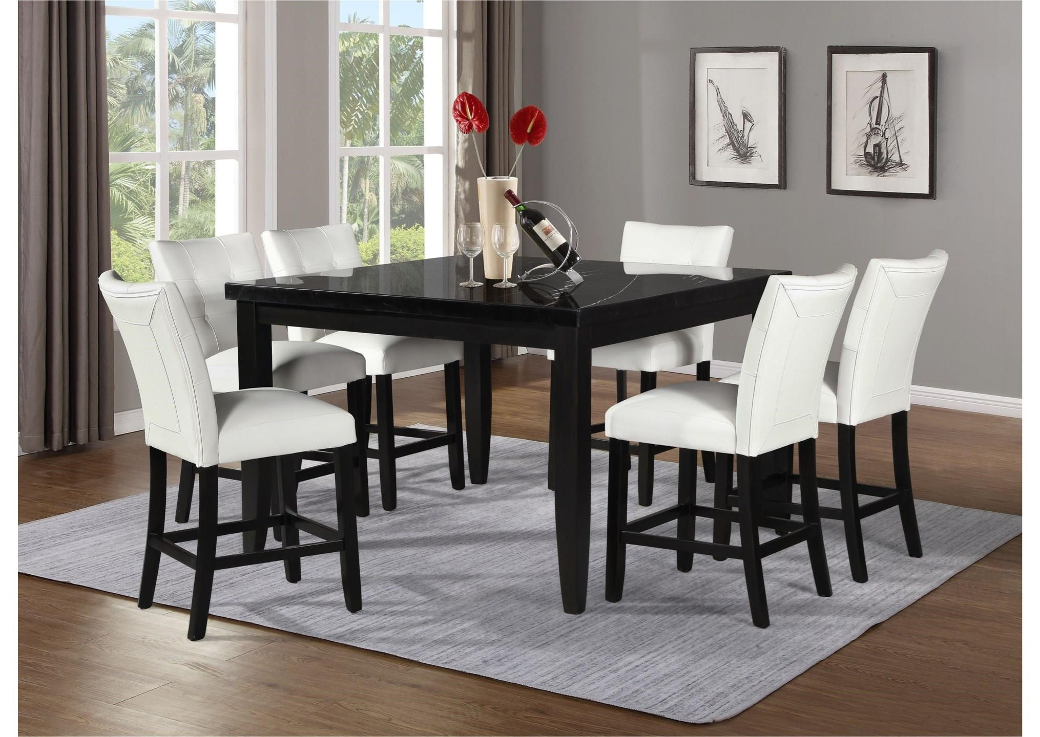 Sidney Sidney 5-Piece Dining Set by Steve Silver at Morris Home