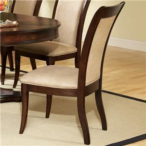 Transitional Upholstered Seat and Back Dining Side Chair