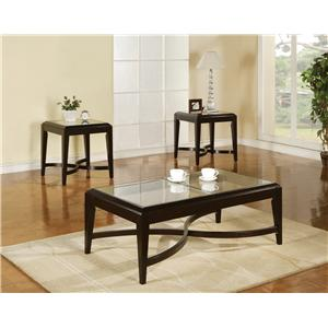 Steve Silver Mayfield 3-Pack Occasional Table Set