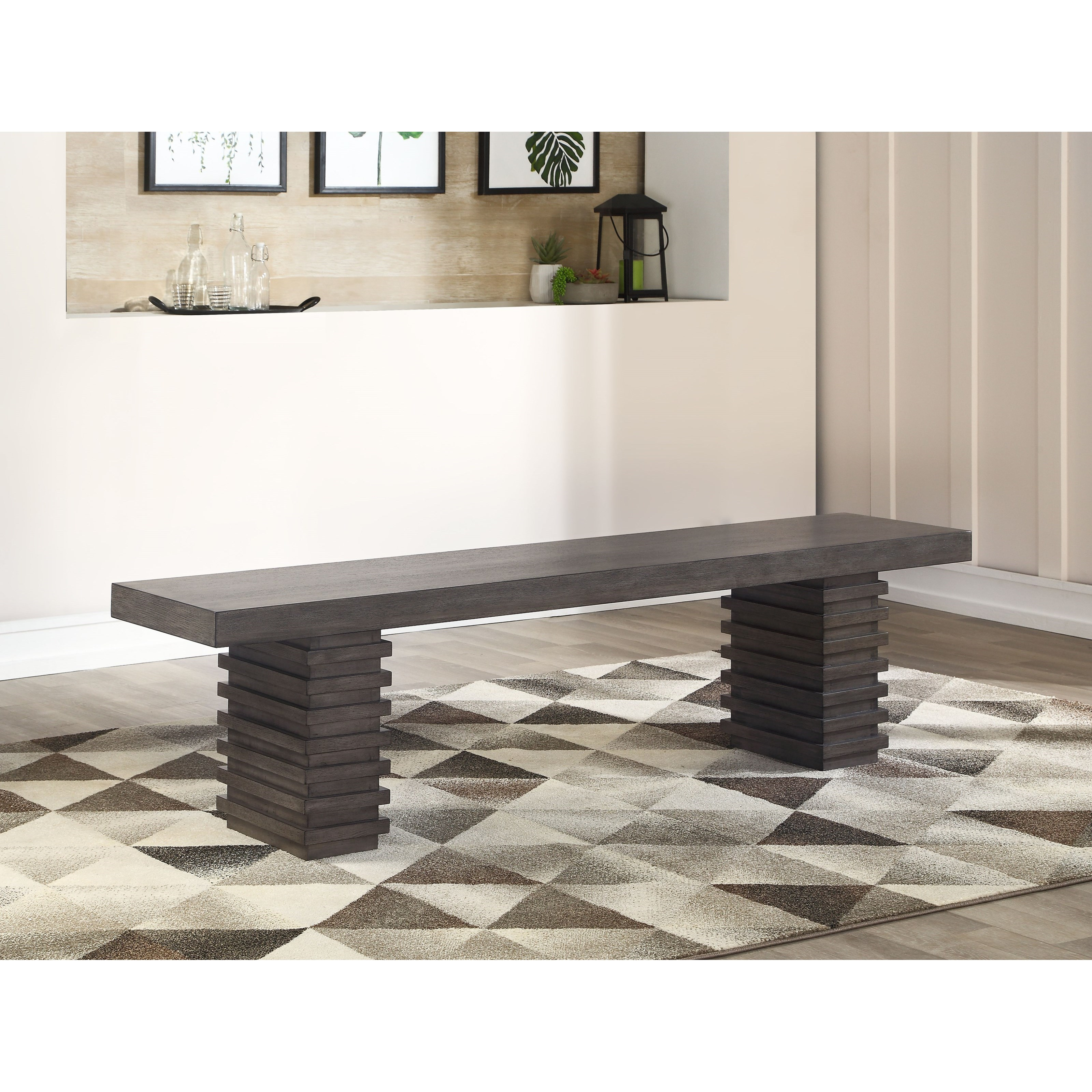 Mila Dining Bench by Steve Silver at Northeast Factory Direct