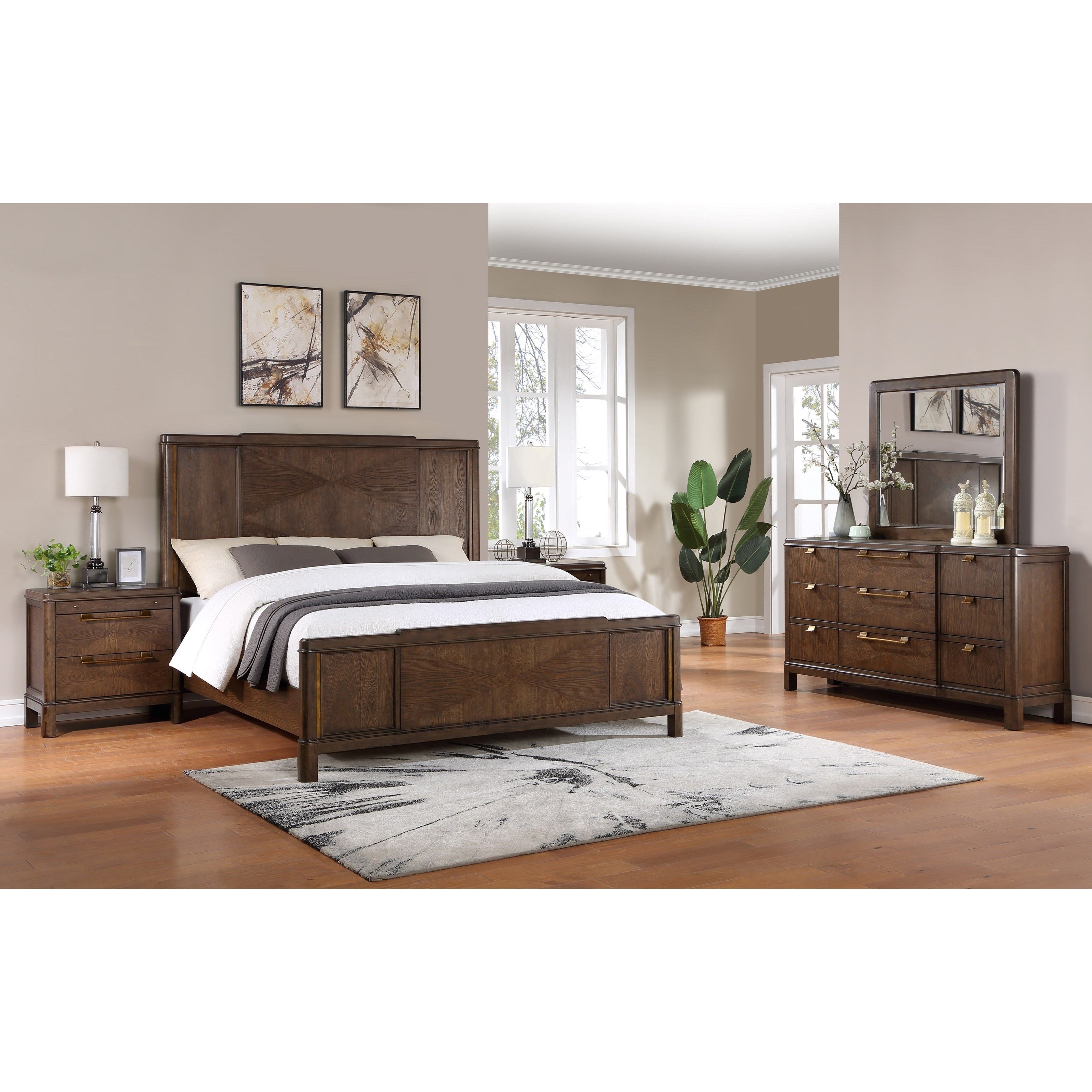 Milan King Bedroom Group by Steve Silver at Northeast Factory Direct
