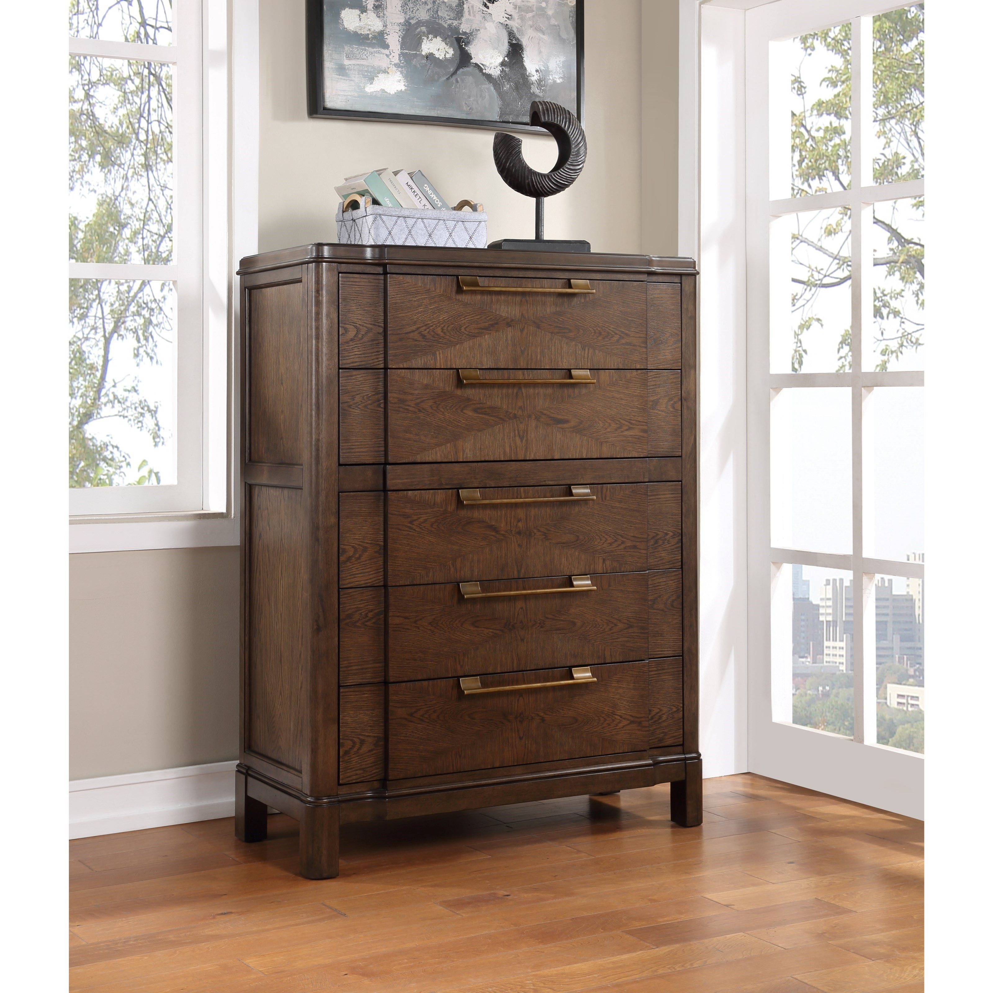 Milan Drawer Chest by Steve Silver at Northeast Factory Direct