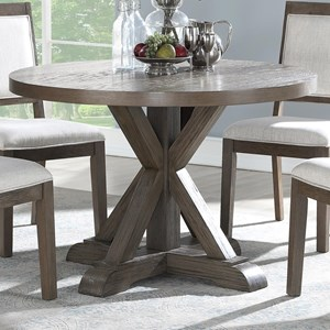 "Rustic 48"" Round Dining Table"