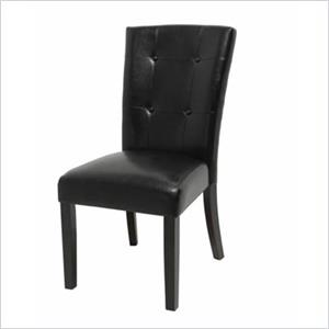 Tufted Back Parson Chair