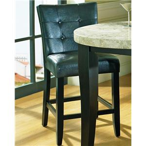 Tufted Back Parson Counter Stool