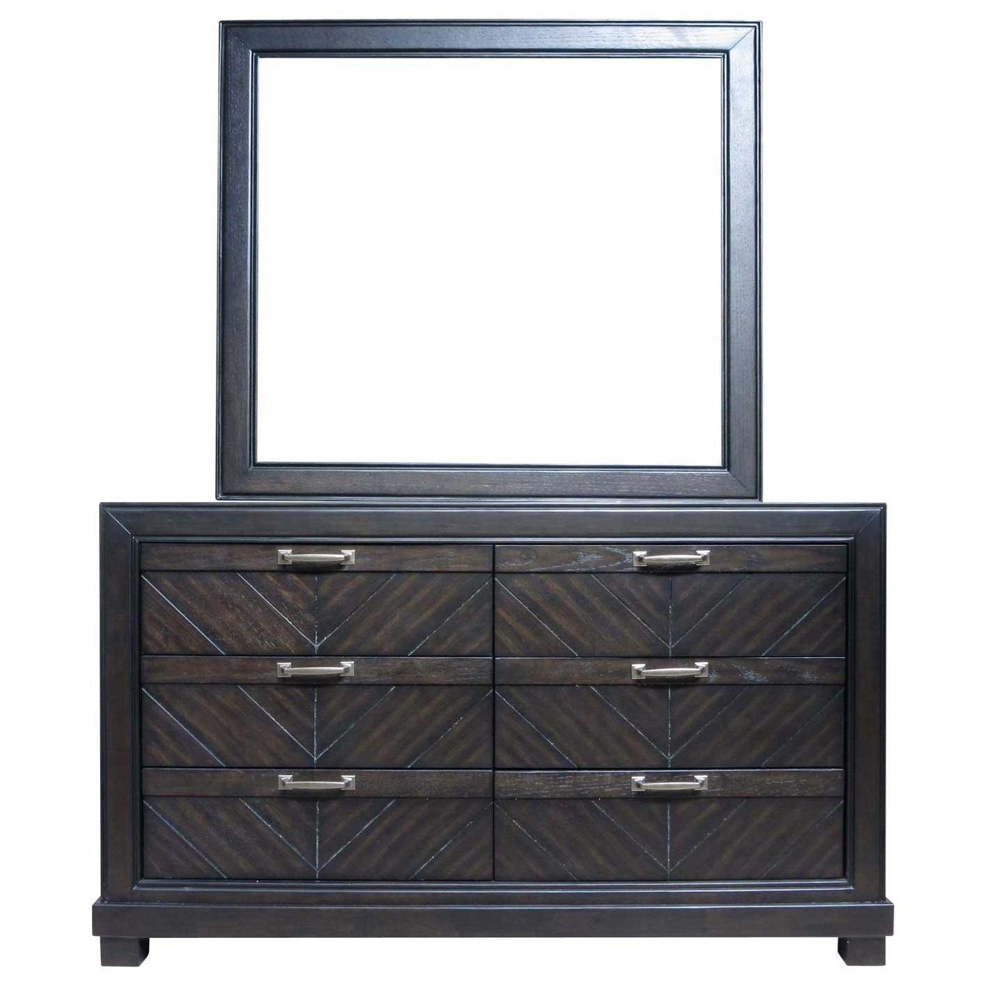 Montana Dresser and Mirror Set by Steve Silver at Northeast Factory Direct