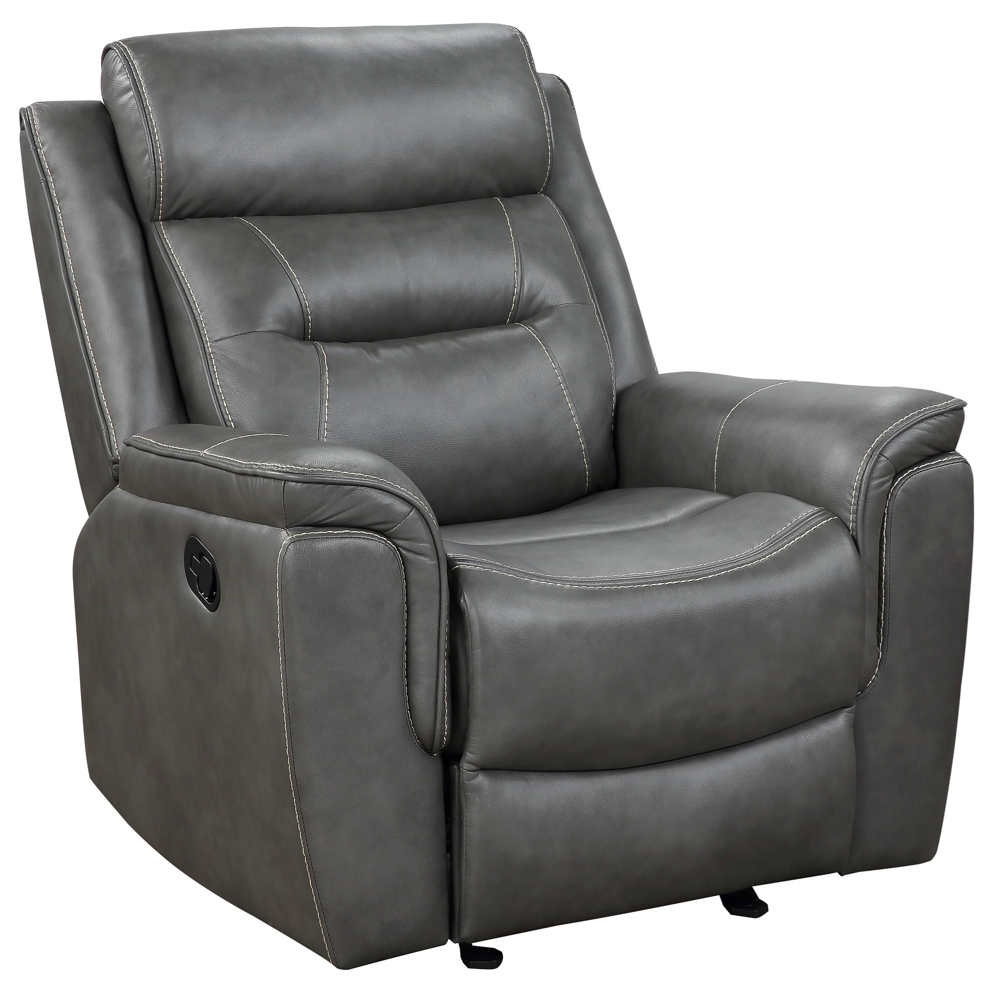 Nash Manual Glider Recliner by Steve Silver at Northeast Factory Direct
