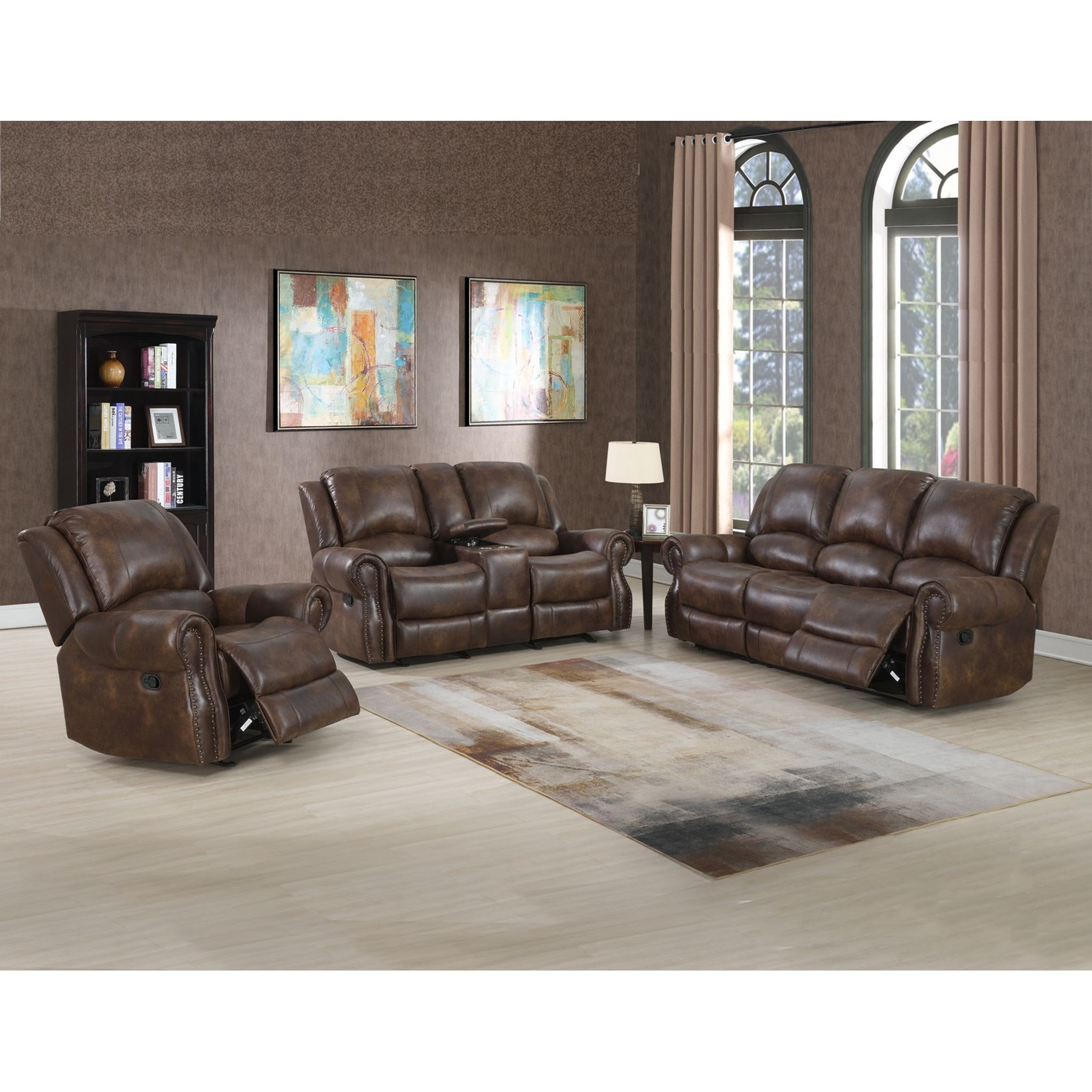 Navarro Reclining Living Room Group by Vendor 3985 at Becker Furniture