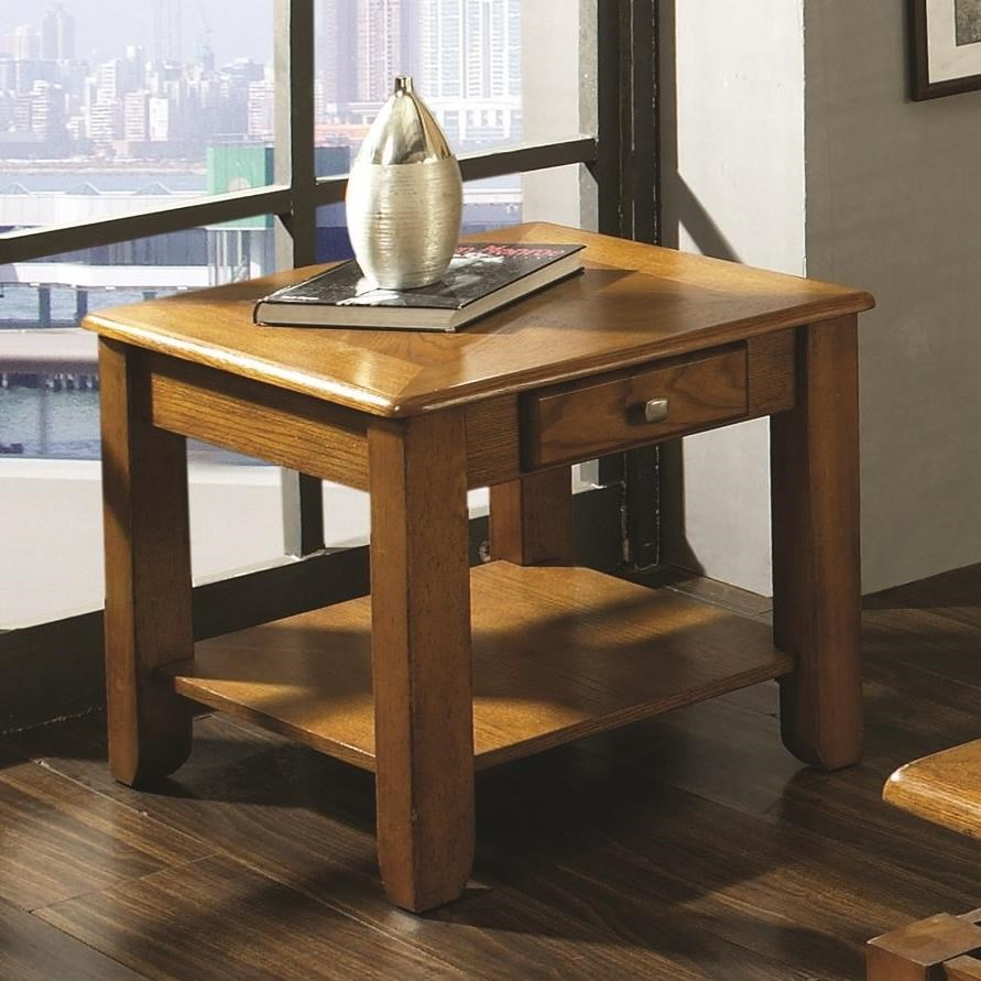 Nelson End Table by Steve Silver at Walker's Furniture