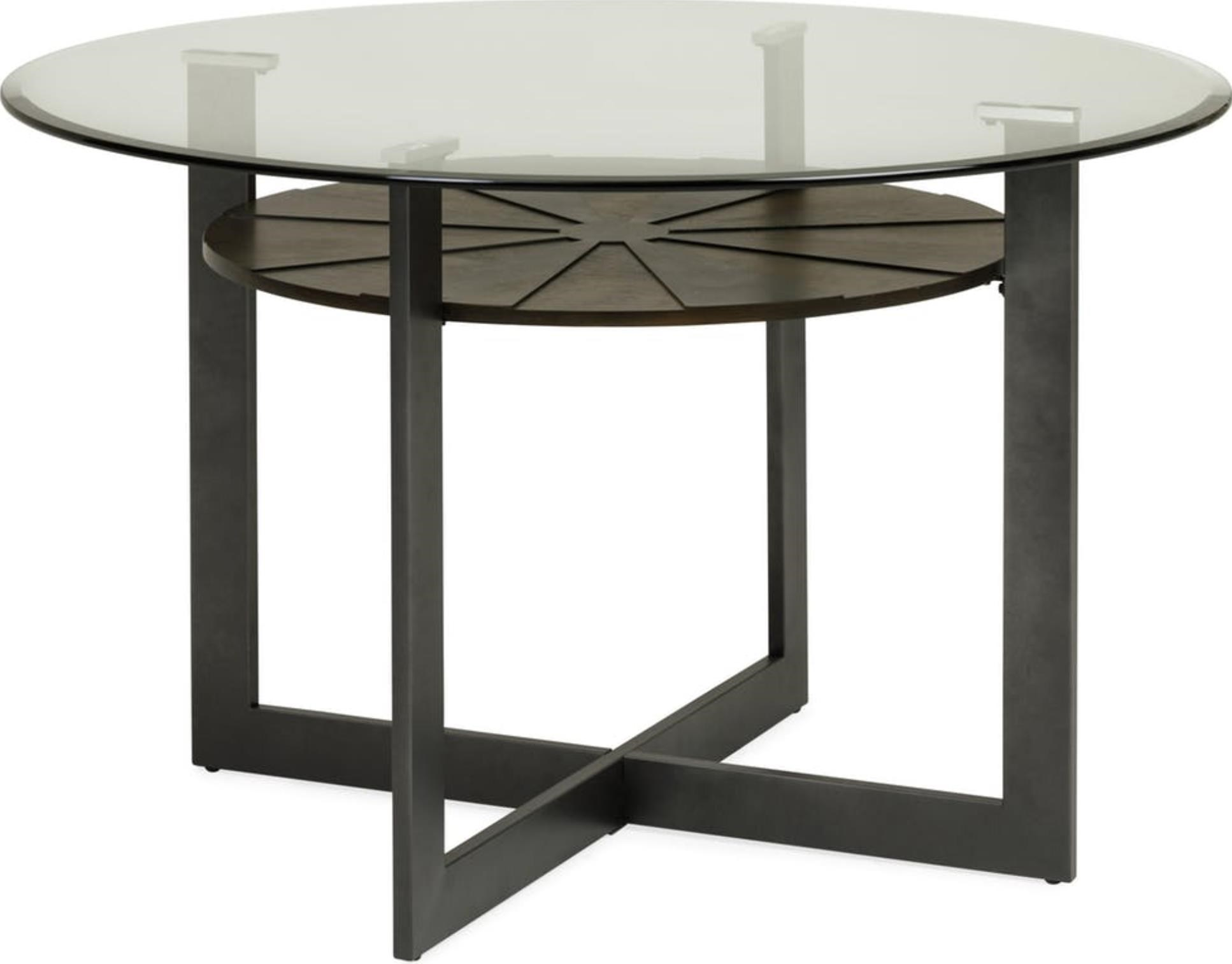 Olsen Glass Top Dining Table at Ruby Gordon Home