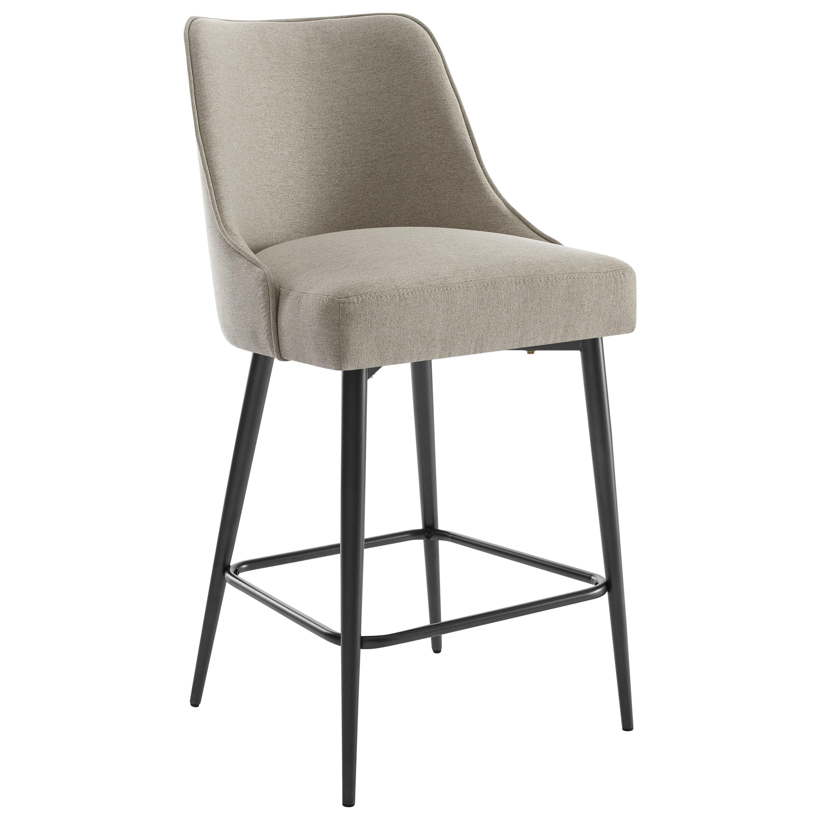 Olson SS Upholstered Counter Chair by Belfort Essentials at Belfort Furniture