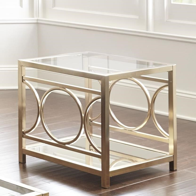 Olympia End Table by Steve Silver at Walker's Furniture