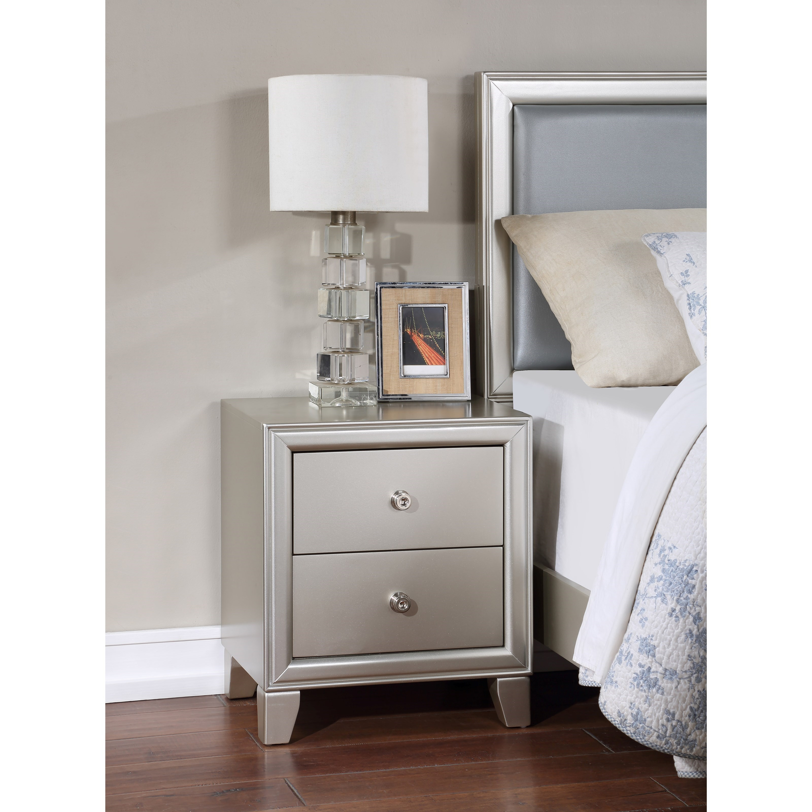 Omni Nightstand by Steve Silver at Standard Furniture