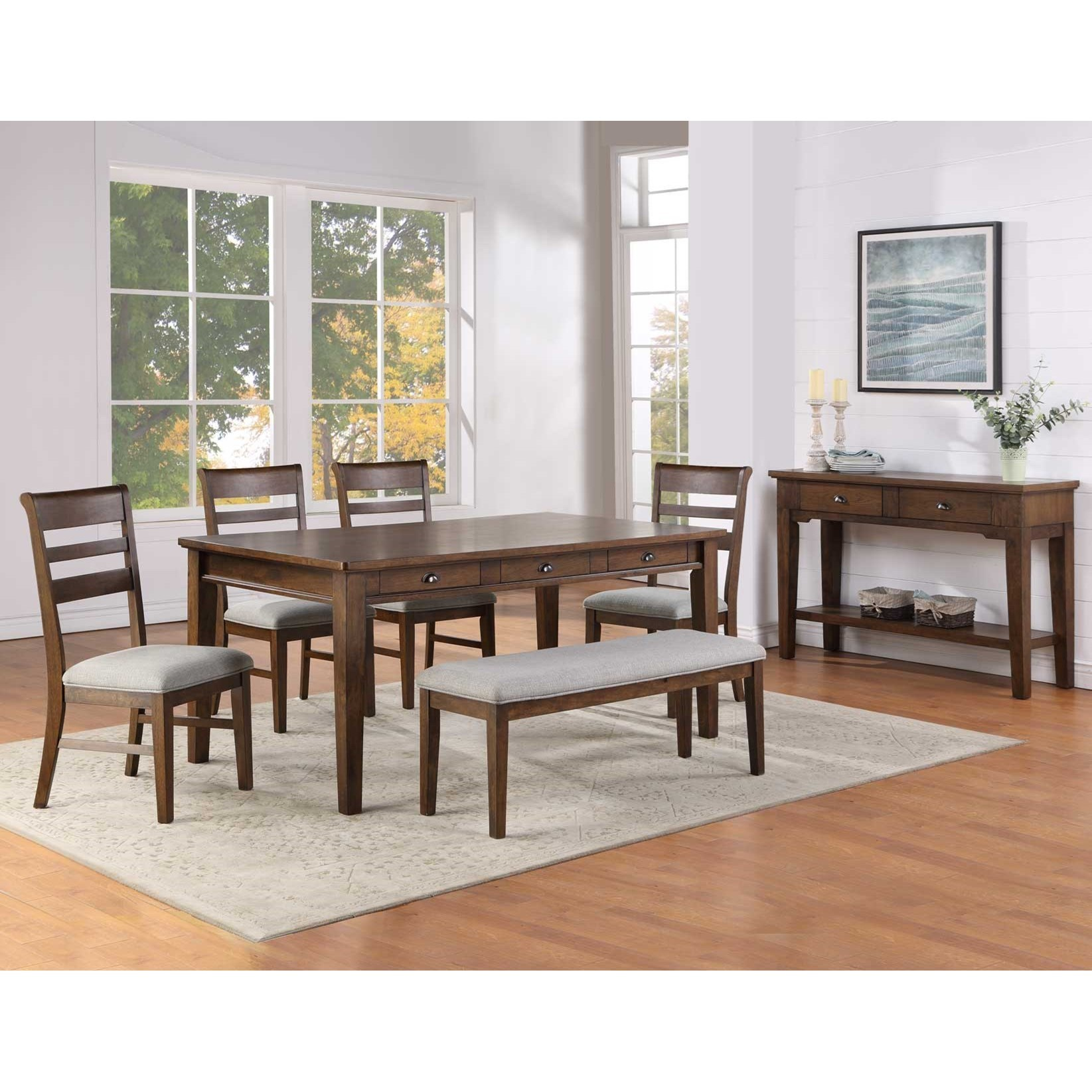 Ora Dining Room Group by Steve Silver at Northeast Factory Direct