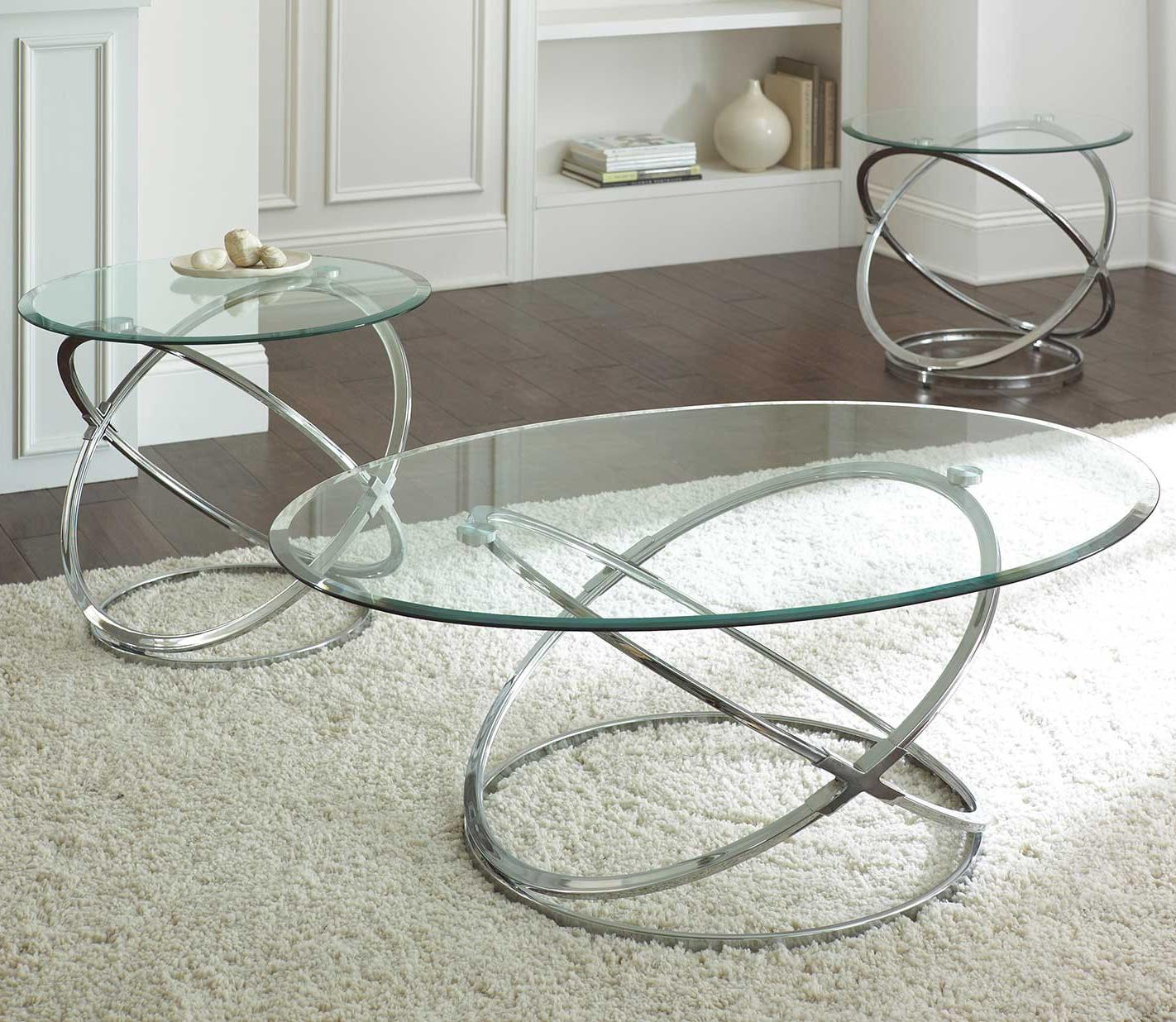 Orion 3 Piece Occasional Set by Steve Silver at Walker's Furniture