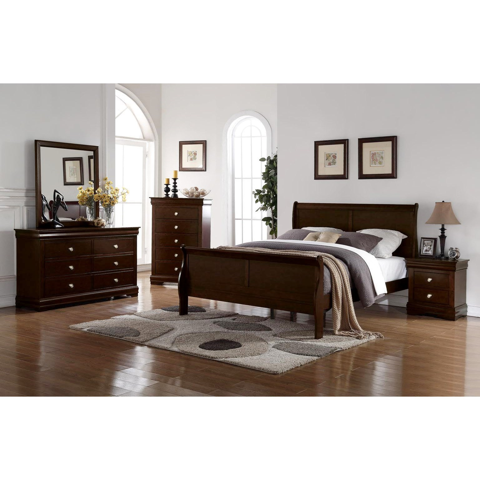 Orleans Queen Bedroom Group by Steve Silver at Northeast Factory Direct