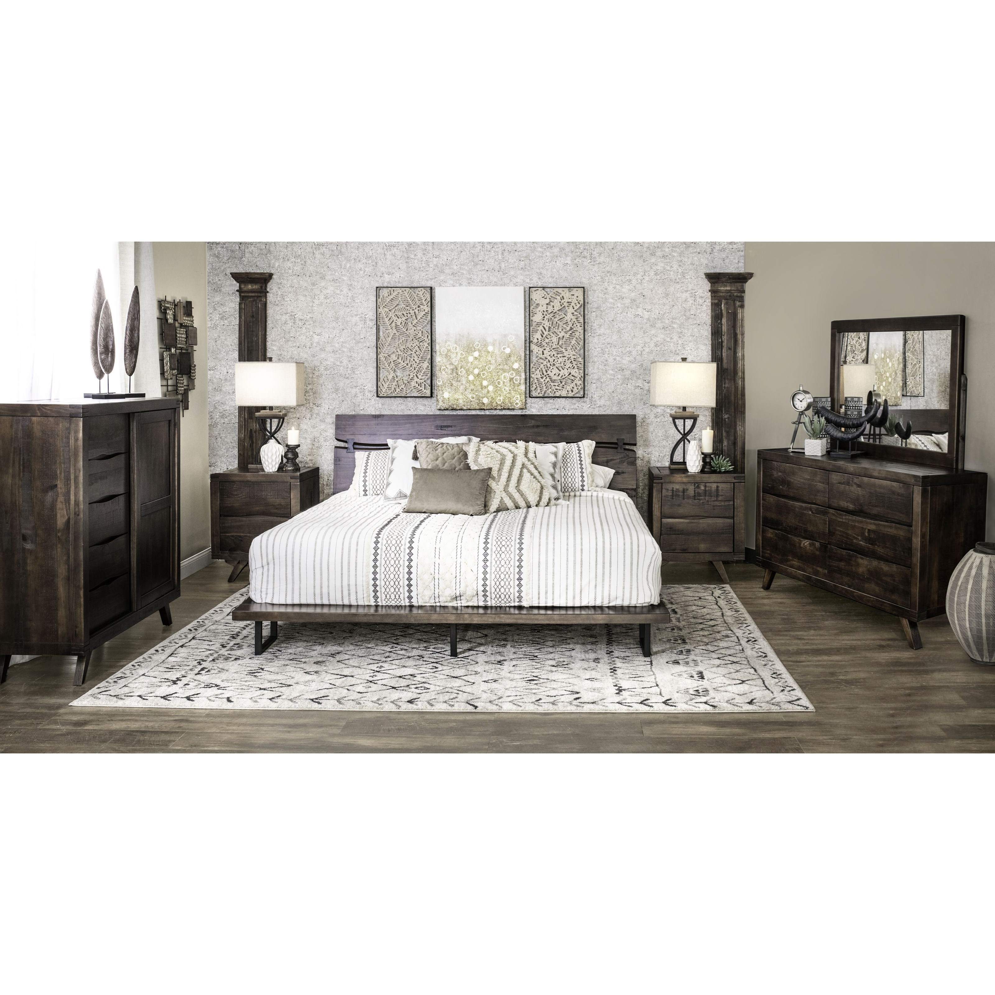 Pasco King Bedroom Group by Steve Silver at Northeast Factory Direct