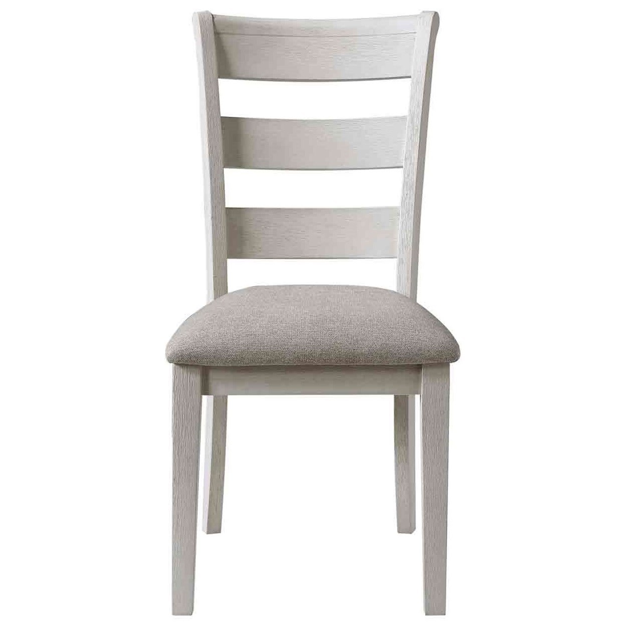 Pendleton Upholstered Ladderback Side Chair by Steve Silver at Walker's Furniture