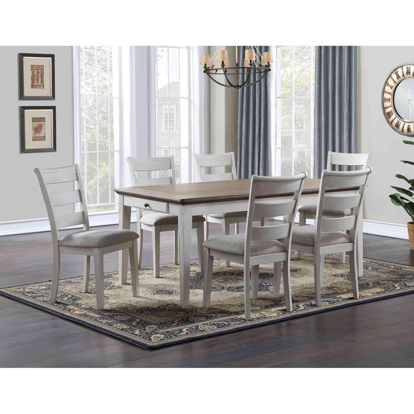 Pendleton 7-Piece Dining Set  by Steve Silver at Walker's Furniture