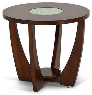 Rafael Round End Table by Steve Silver at Darvin Furniture
