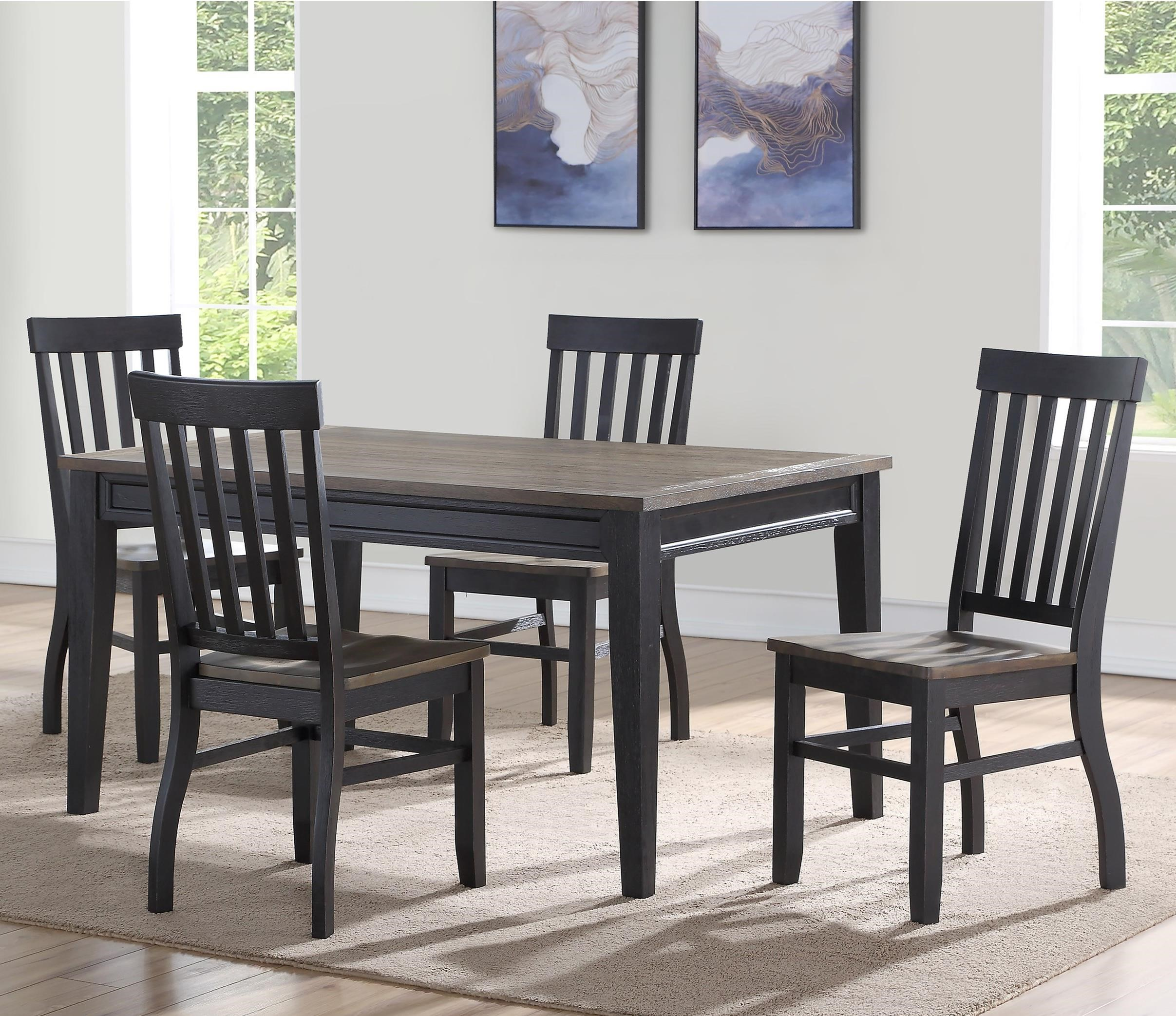 Raven 5 Pc Dining Set by Steve Silver at Walker's Furniture