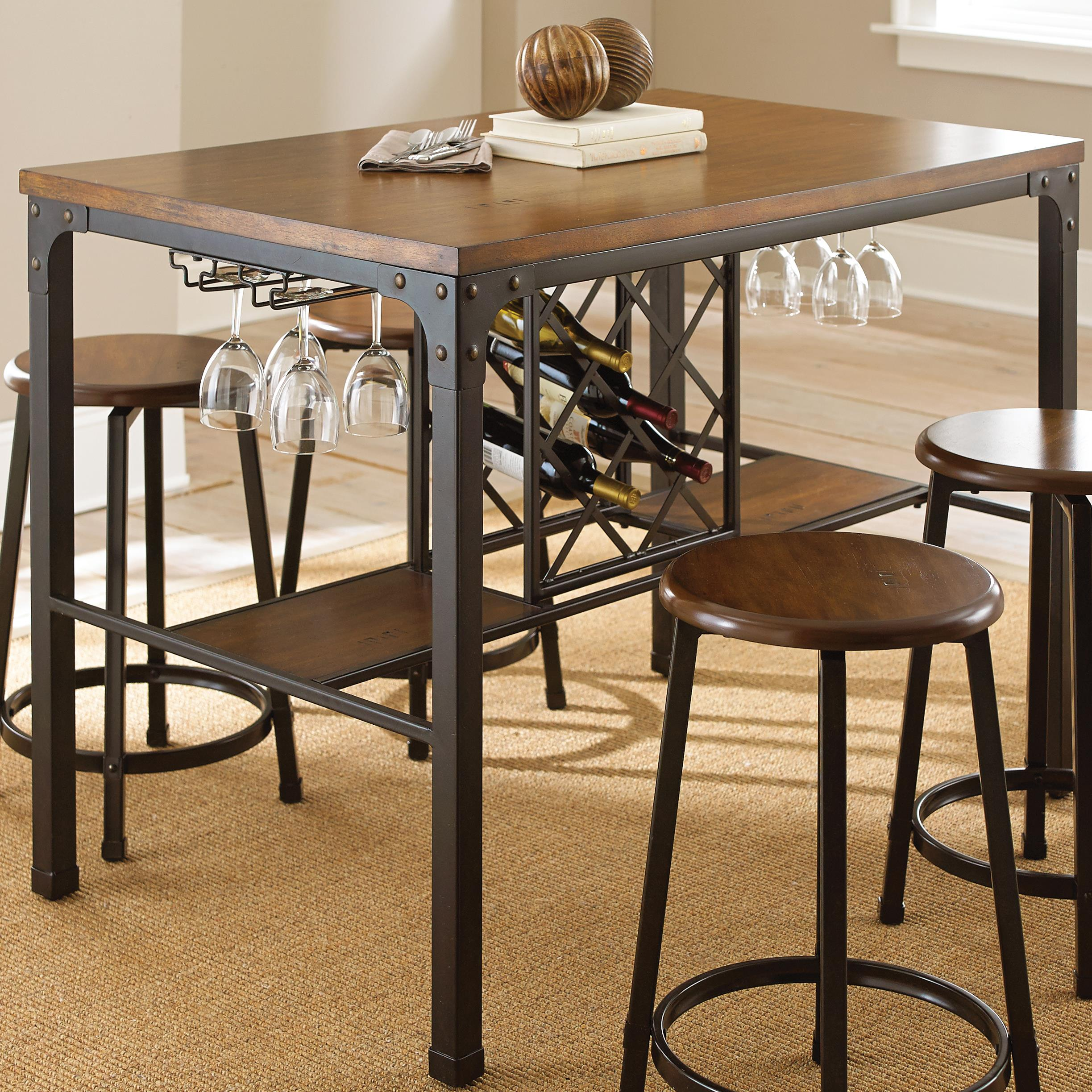 Rebecca Rectangular Counter Table by Steve Silver at Walker's Furniture