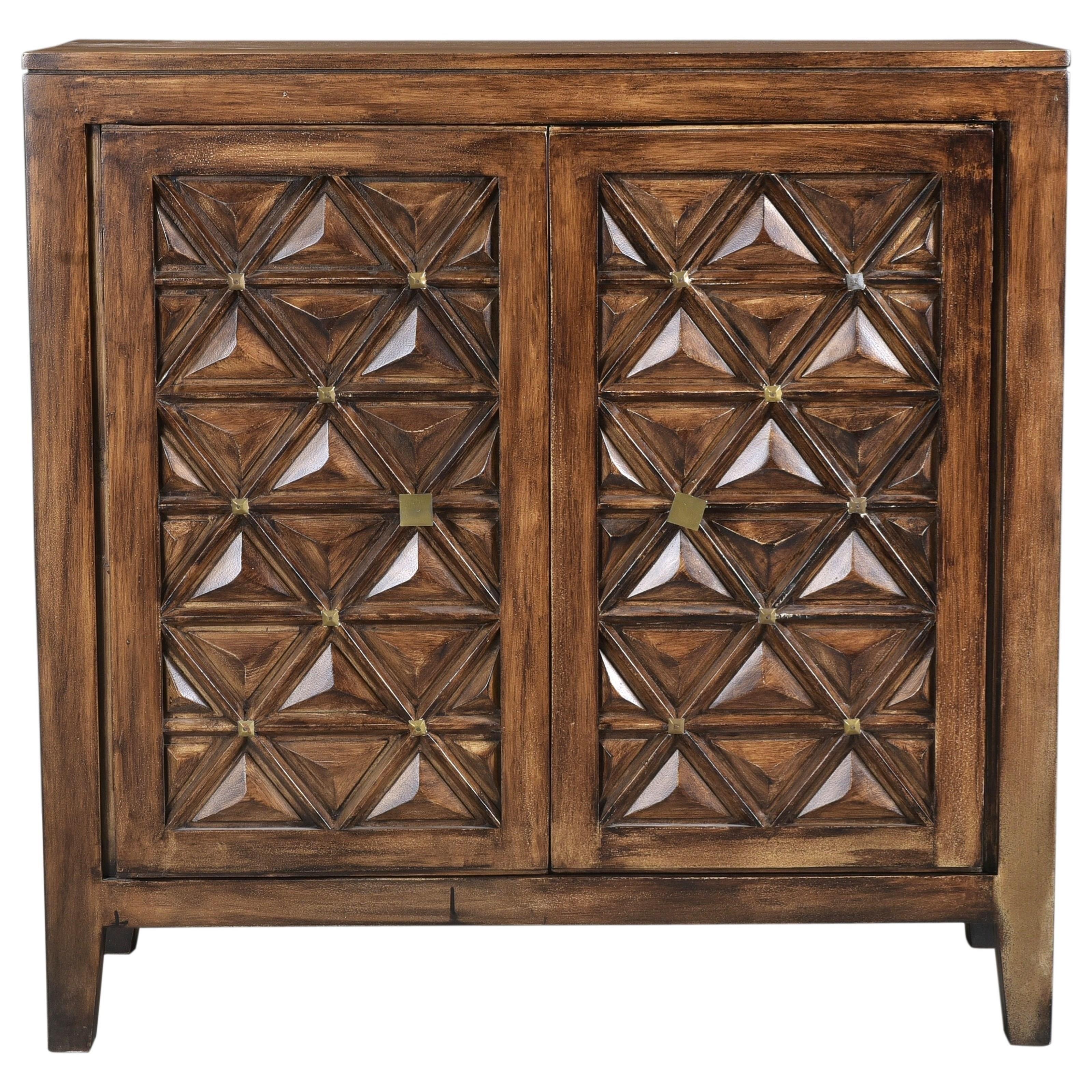 Regent Accent Cabinet by Steve Silver at Walker's Furniture