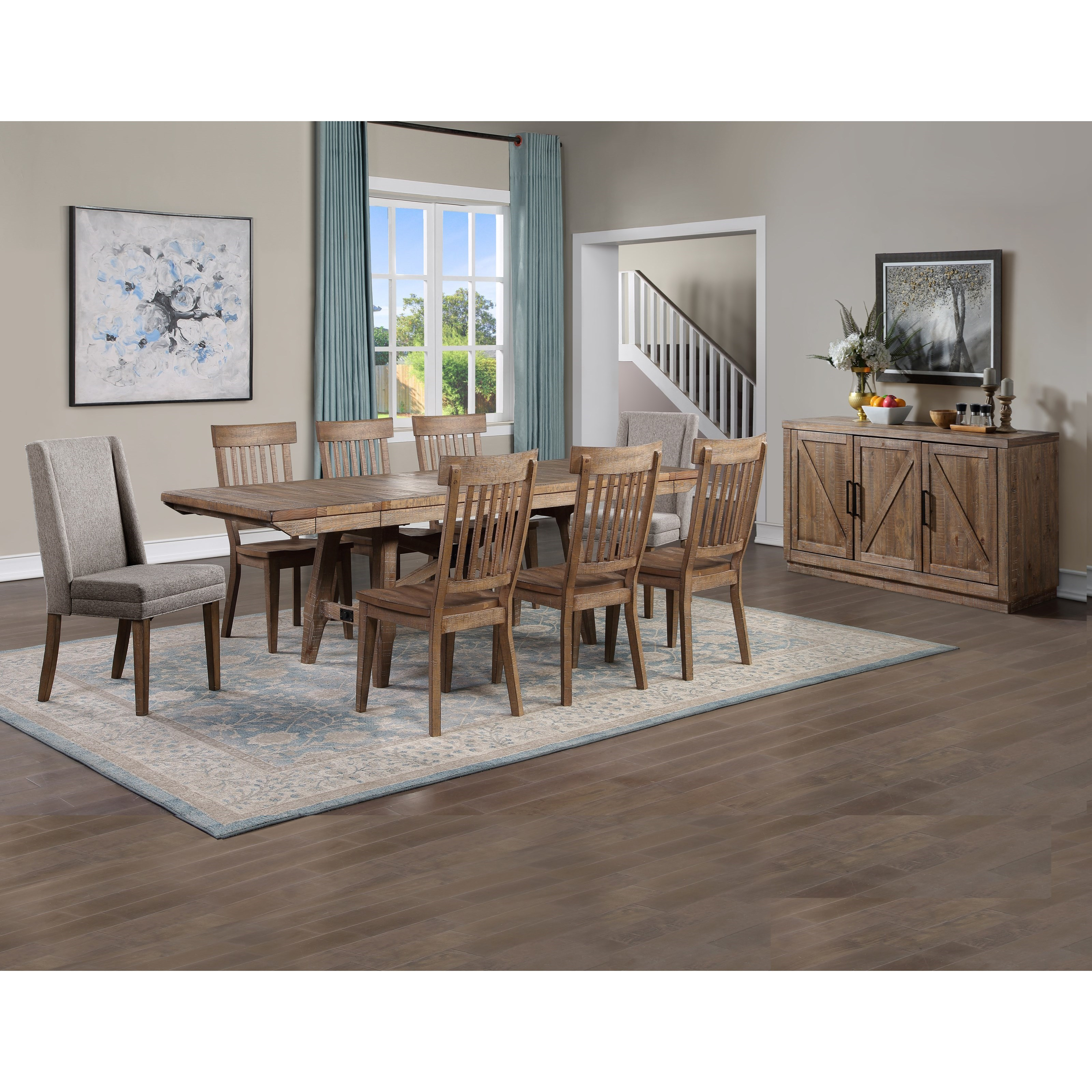 Riverdale Dining Room Group by Steve Silver at Northeast Factory Direct