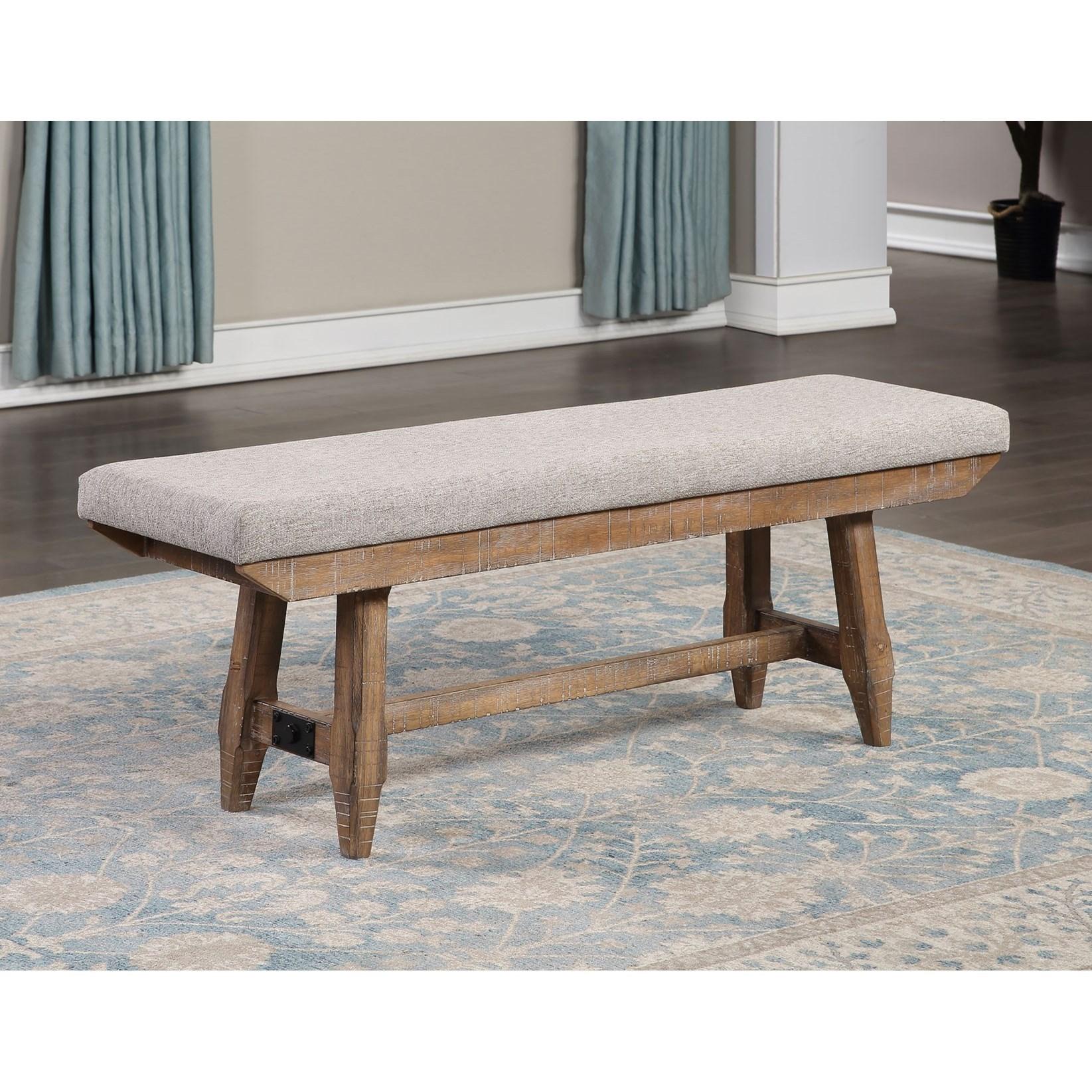 Riverdale Bench by Steve Silver at Walker's Furniture