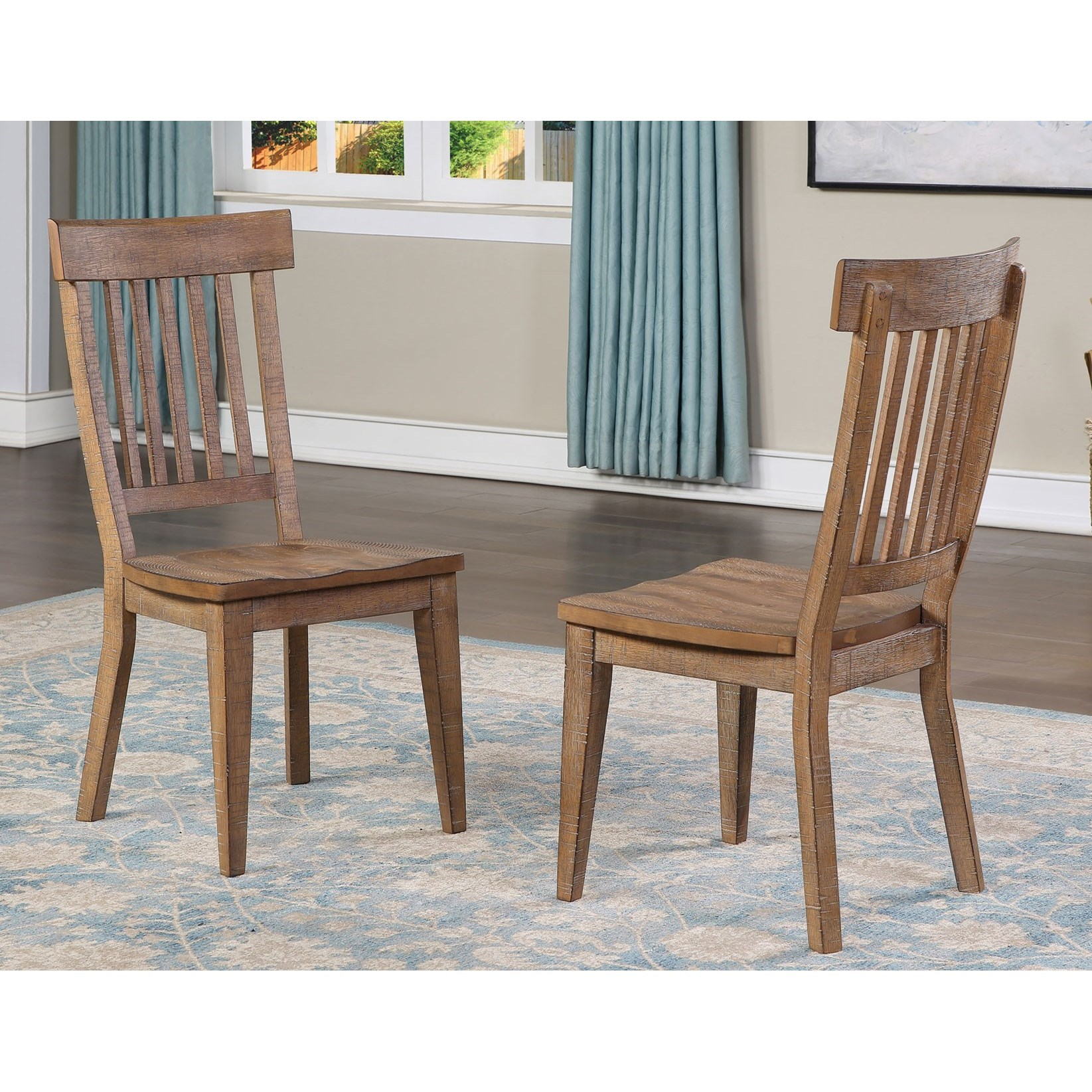 Riverdale Side Chair by Steve Silver at Walker's Furniture