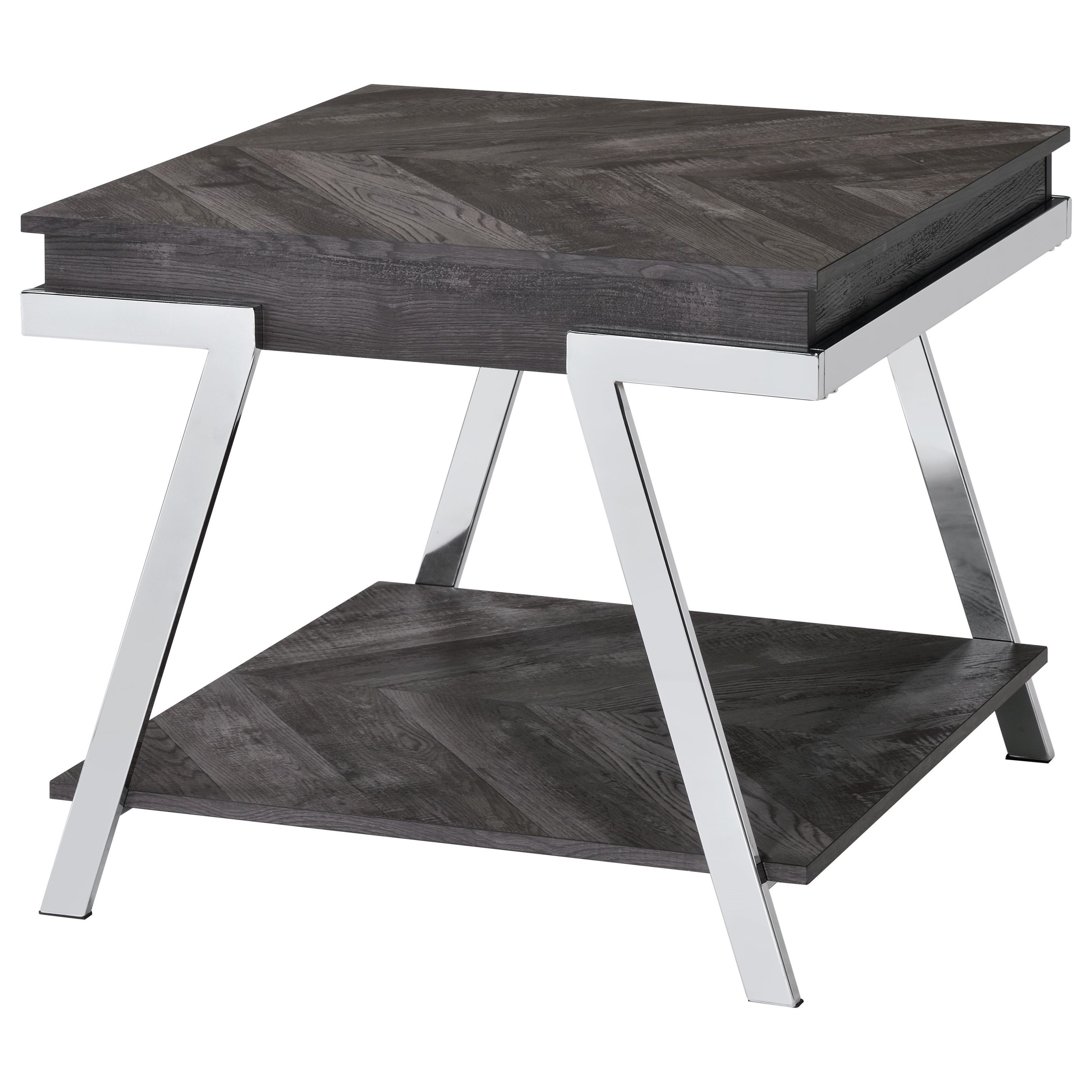 Roma End Table by Steve Silver at Walker's Furniture