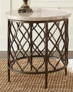 Rosser Rosser End Table by Steve Silver at Morris Home