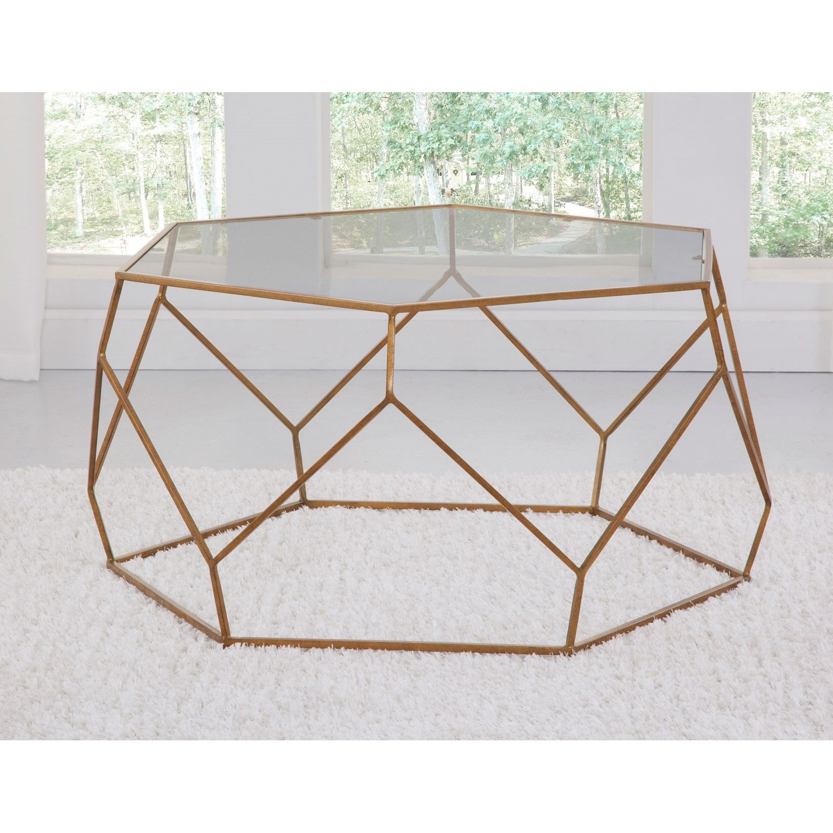 Roxy Cocktail Table by Steve Silver at Walker's Furniture