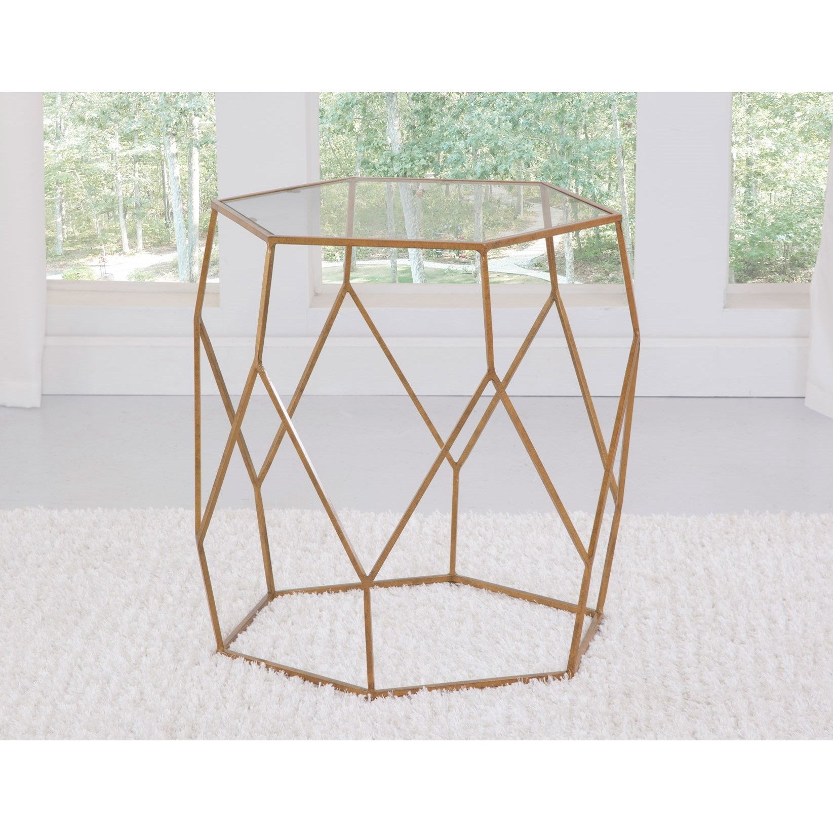 Roxy End Table by Steve Silver at Walker's Furniture