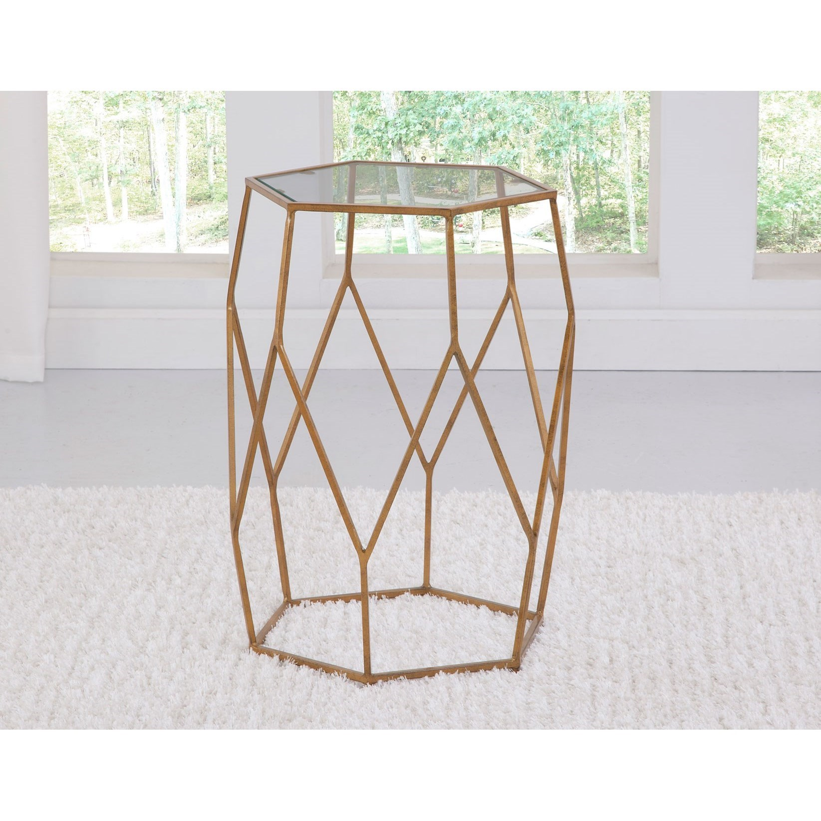 Roxy Chairside Table by Steve Silver at Walker's Furniture