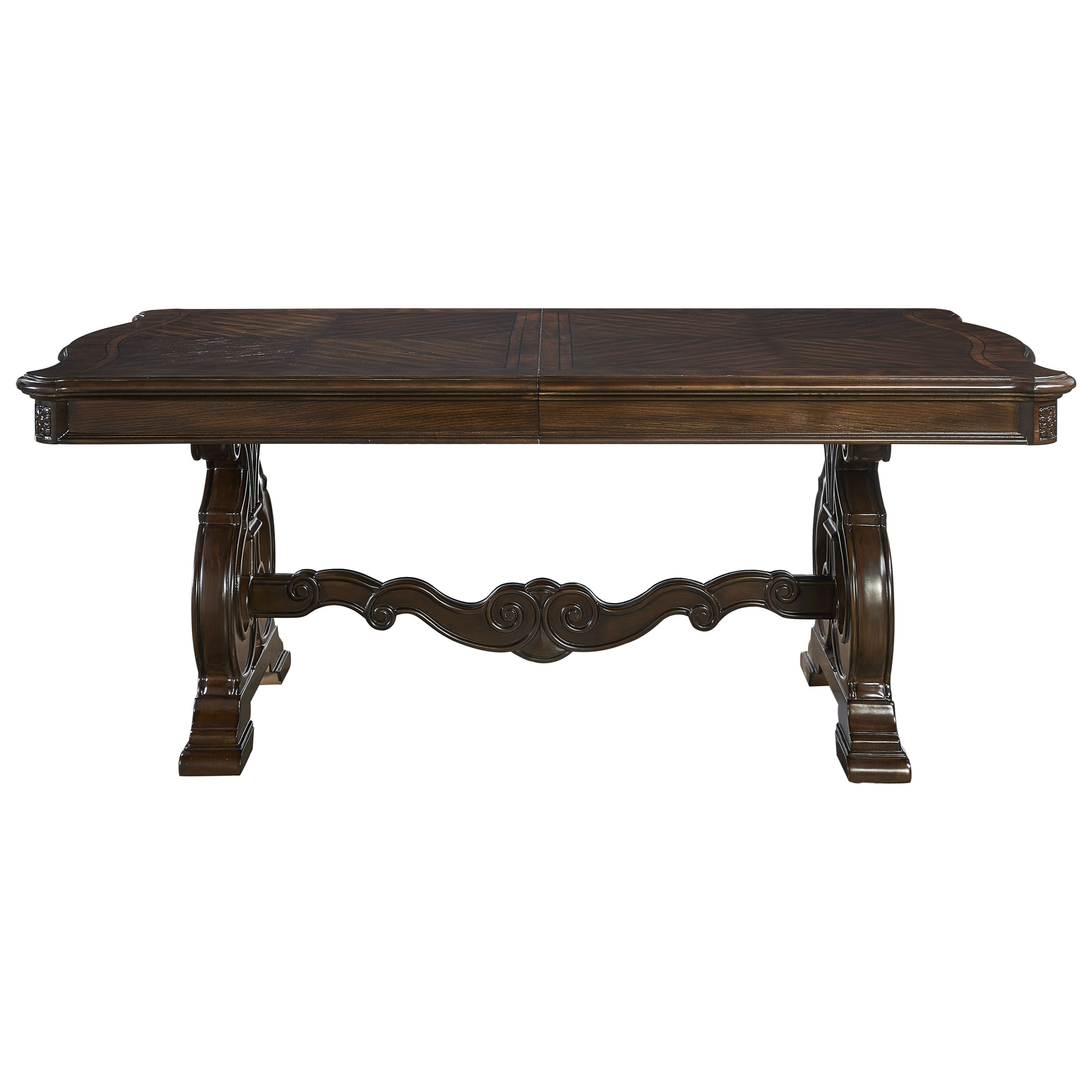 Royale Cathedral Veneer Dining Table by Steve Silver at Northeast Factory Direct