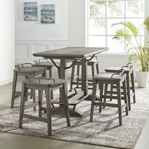 7-Piece Counter Height Table and Stool Set