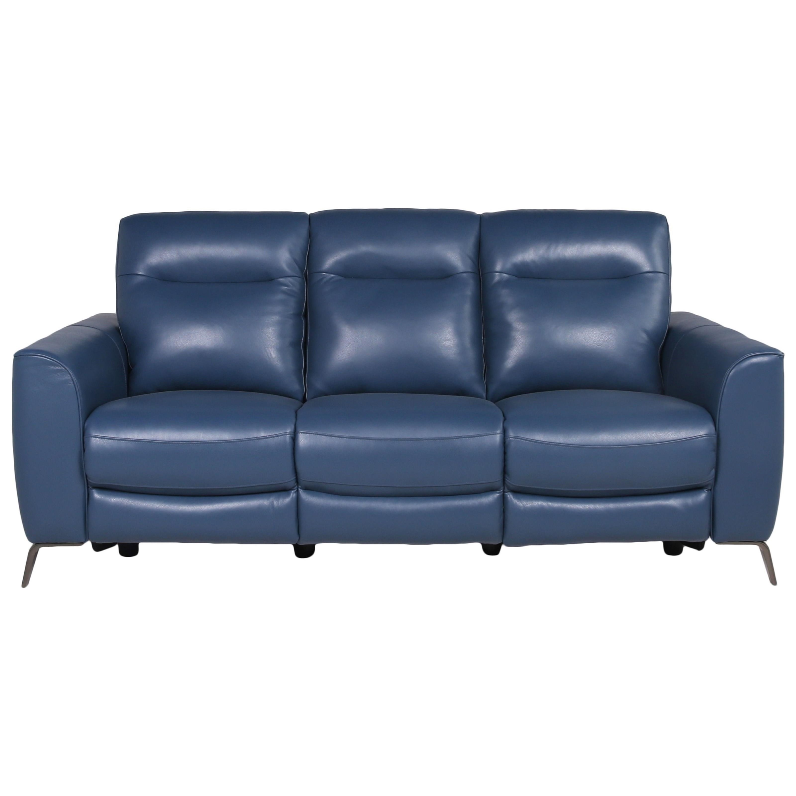 Sansa Power Reclining Sofa by Steve Silver at Northeast Factory Direct