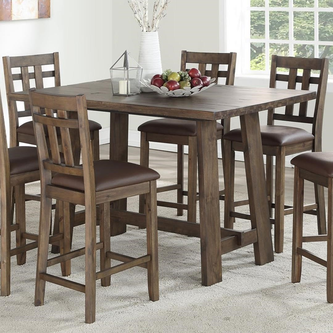 Saranac 5 Piece Dining Set by Steve Silver at Wilcox Furniture