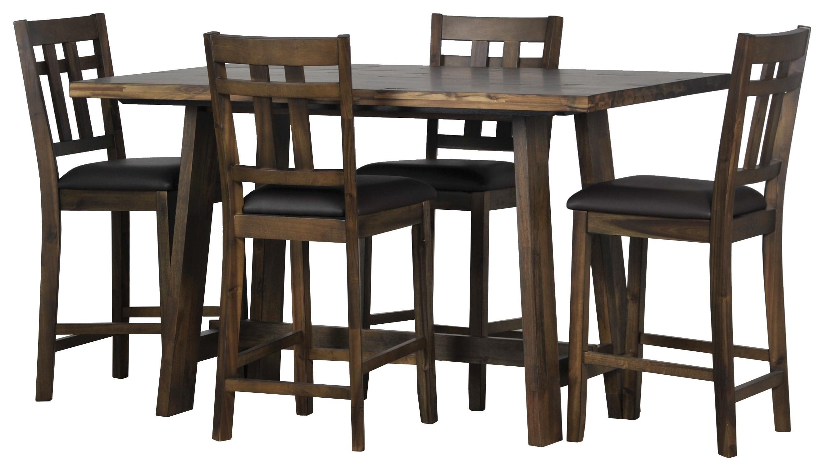 Saranac 5 Piece Dining Set at Sadler's Home Furnishings