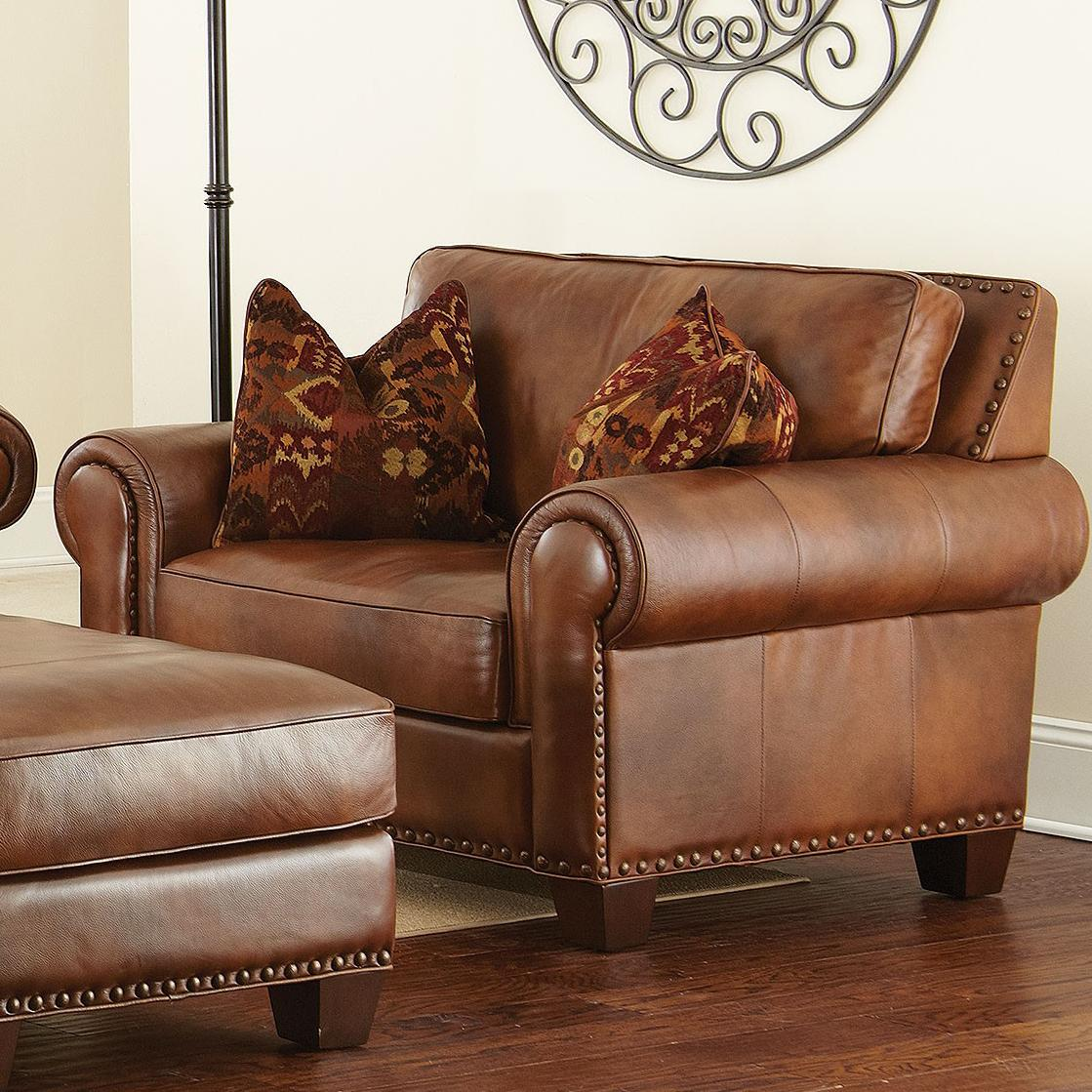 Silverado Traditional Chair and a Half by Steve Silver at Northeast Factory Direct