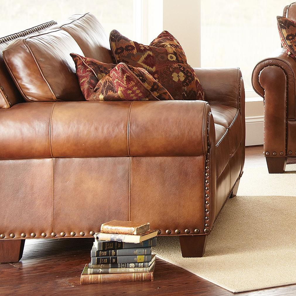 Silverado Traditional Loveseat by Steve Silver at Northeast Factory Direct