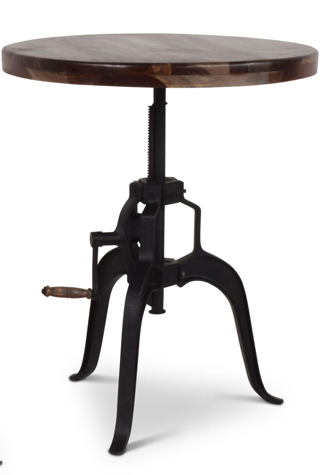 Sparrow Adjustable Round Table by Steve Silver at Walker's Furniture