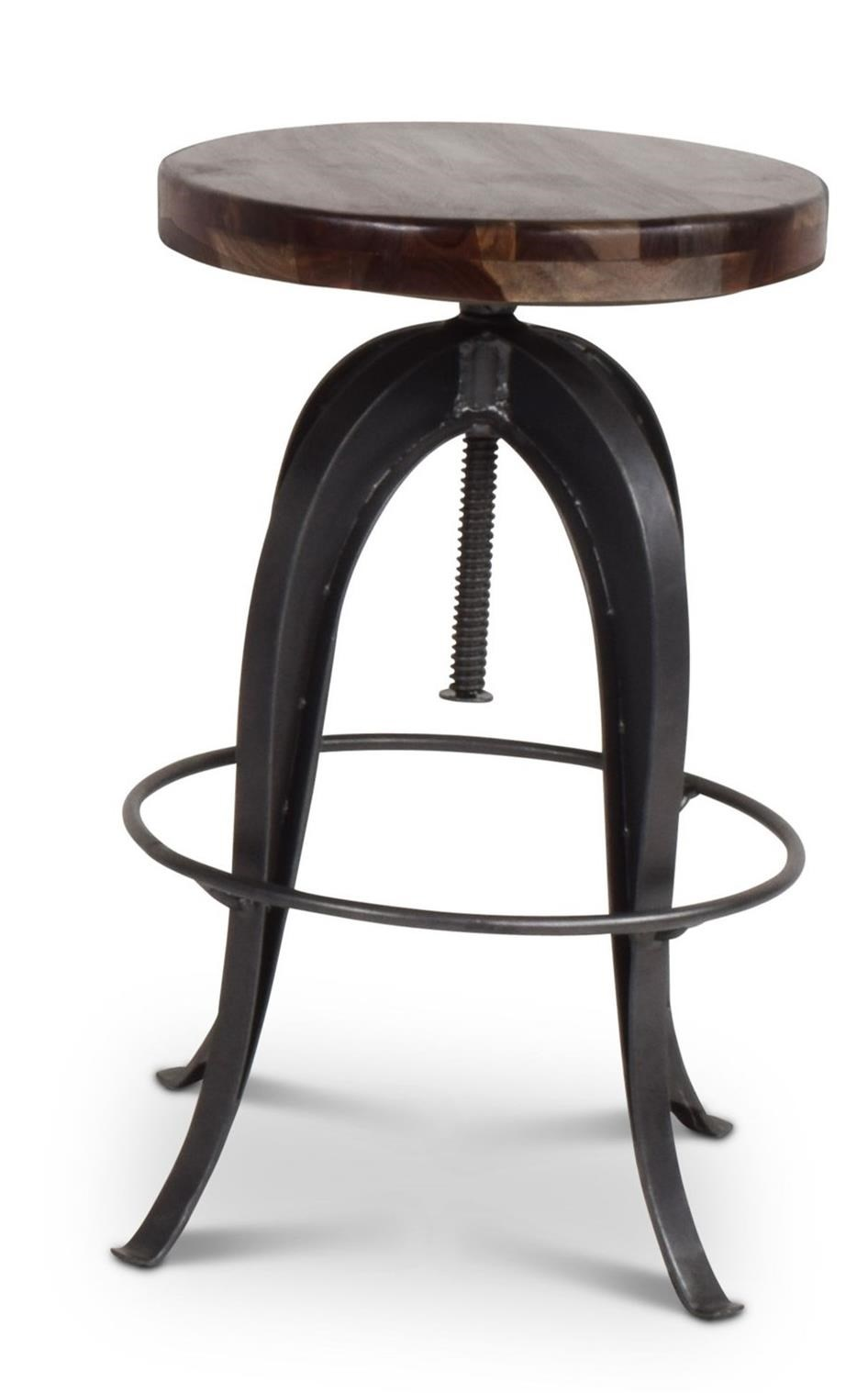 Sparrow Adjustable Round Stool by Steve Silver at Northeast Factory Direct