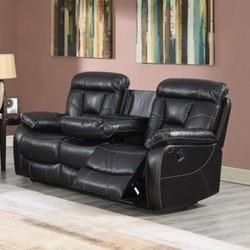 Squire Reclining Sofa by Steve Silver at Smart Buy Furniture