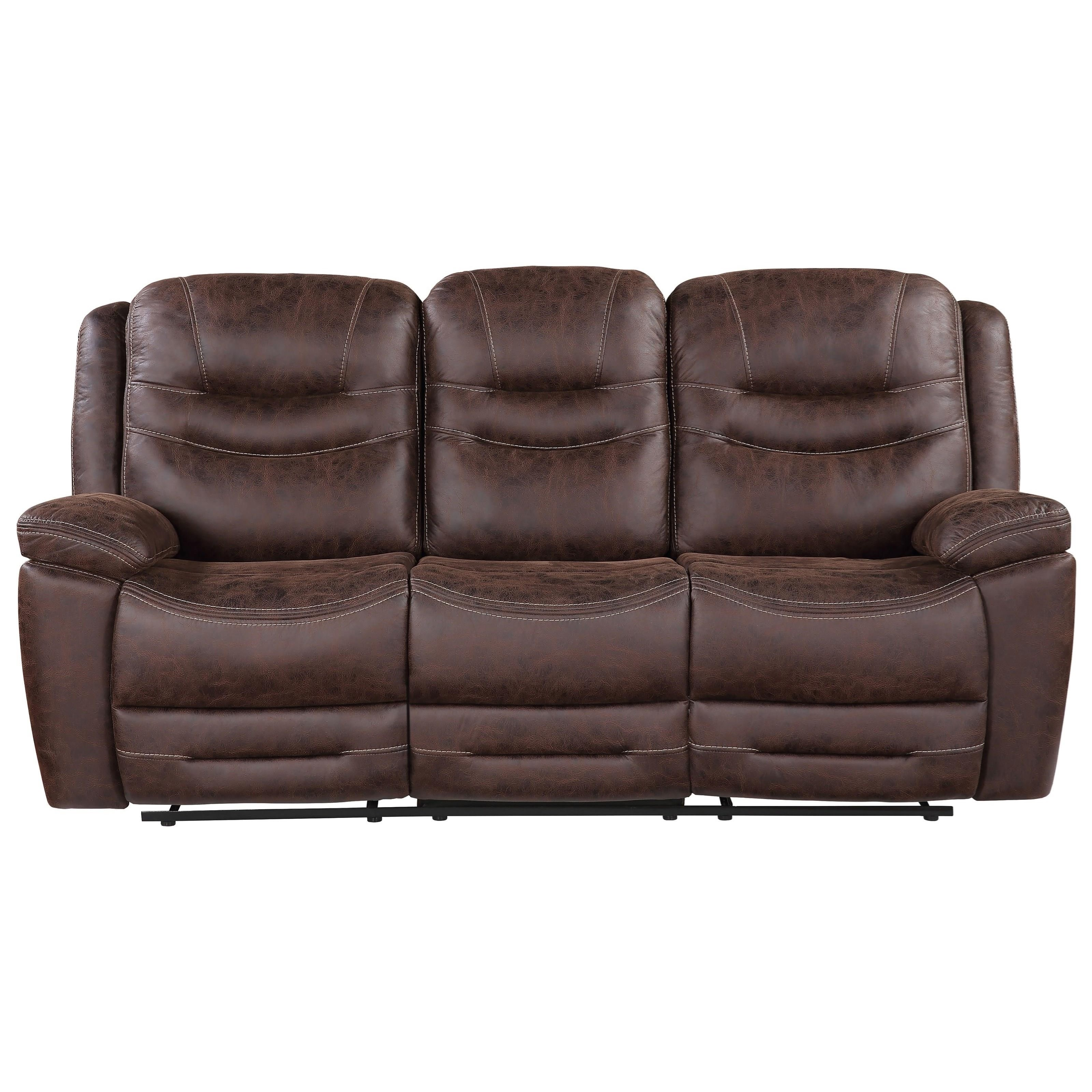 Stetson Manual Reclining Sofa by Steve Silver at Northeast Factory Direct