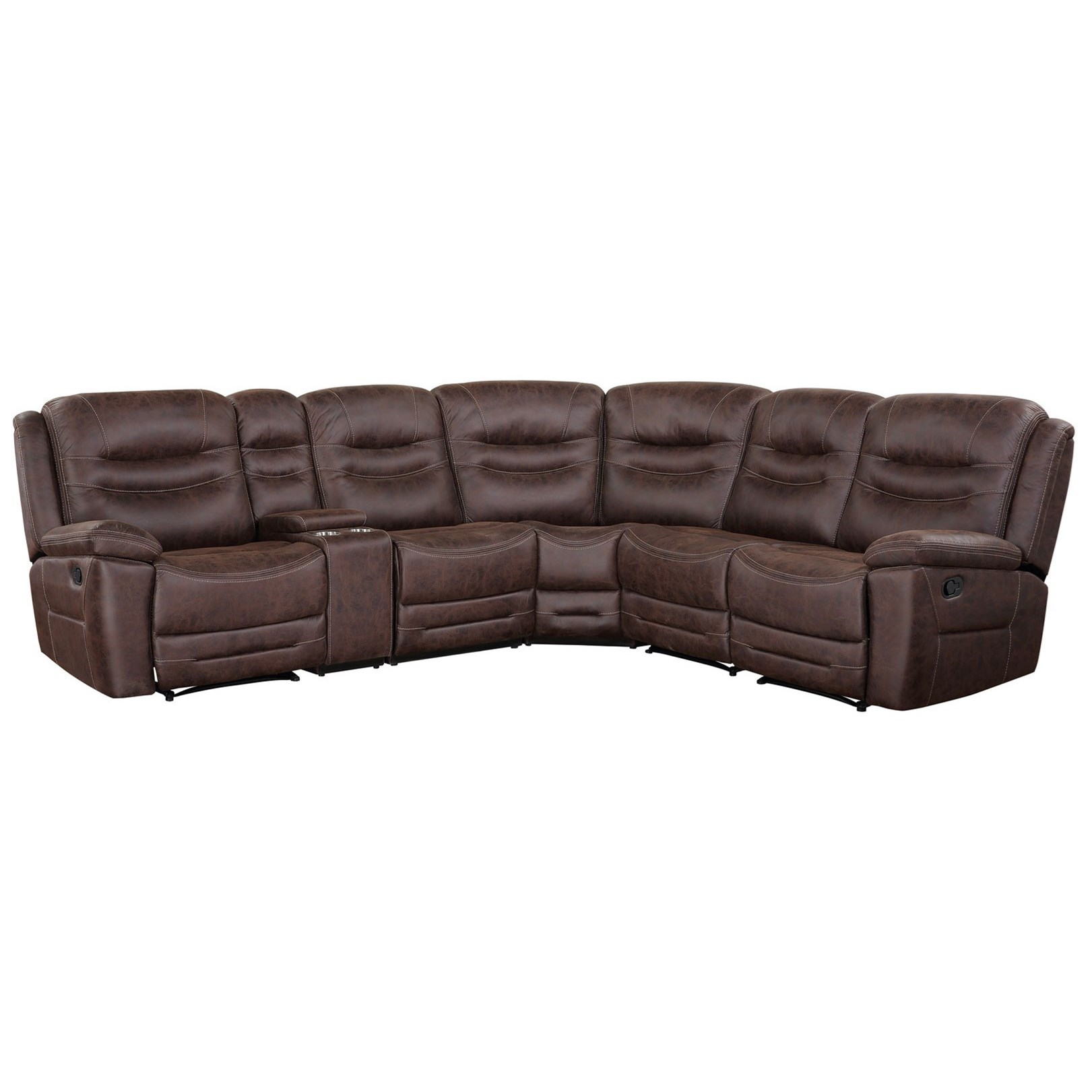 Stetson 6-Piece Sectional by Steve Silver at Northeast Factory Direct