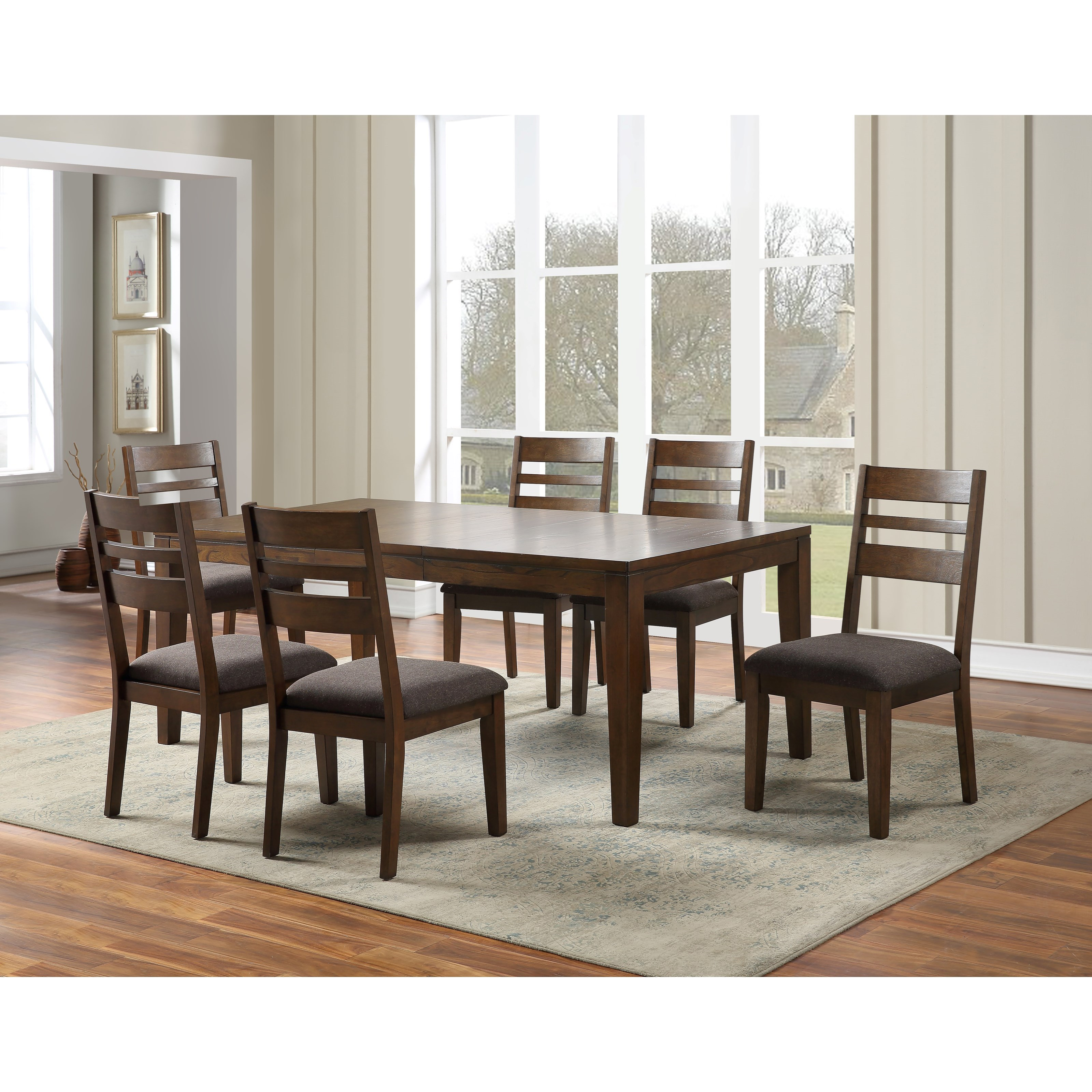Stratford 7-Piece Table and Chair Set by Steve Silver at Walker's Furniture
